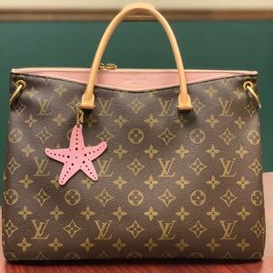 Authentic Louis Vuitton Pallas in Rose Ballerine